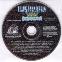 Various Artists - Think Tank Media Sampler Volume Two CD (album) cover