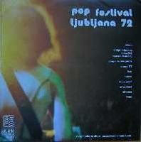 Various Artists - Pop Festival Ljubljana '72 - Boom CD (album) cover