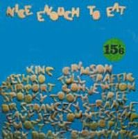 Various Artists - Nice Enough To Eat CD (album) cover