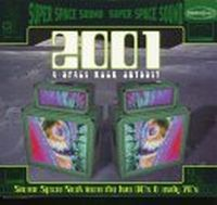 Various Artists - 2001 : A Space Rock Oddysey CD (album) cover