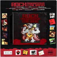 Various Artists - Rock Progressivo Italiano CD (album) cover
