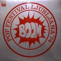 Various Artists - Boom Pop Festival Ljubljana '74 CD (album) cover