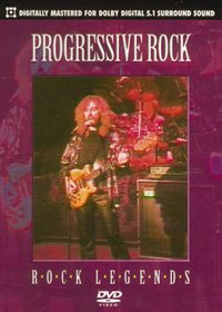 Various Artists - Rock Legends : Progressive Rock DVD (album) cover