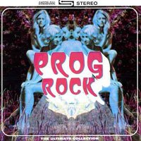 Various Artists - The Prog Rock Collection CD (album) cover