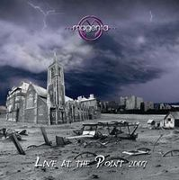 MAGENTA - Live At The Point CD album cover