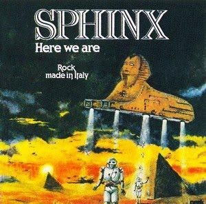 Sphinx - Here We Are CD (album) cover