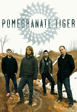 POMEGRANATE TIGER image groupe band picture