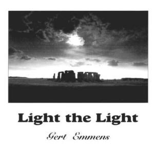 Gert Emmens - Light The Light CD (album) cover
