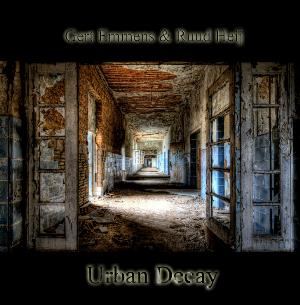 Gert Emmens - Urban Decay (with Ruud Heij) CD (album) cover