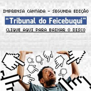 Tom Ze - Tribunal Do Feicebuqui CD (album) cover