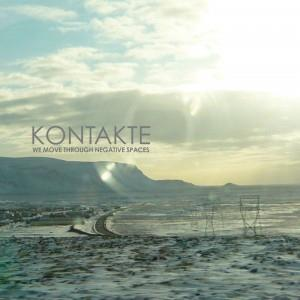 Kontakte - We Move Through Negative Spaces CD (album) cover