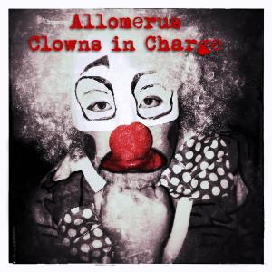 Allomerus - Clowns In Charge CD (album) cover