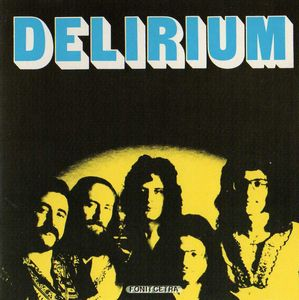 Delirium (ita) - Delirium CD (album) cover