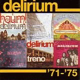 Delirium (ita) - 71 - 75 CD (album) cover