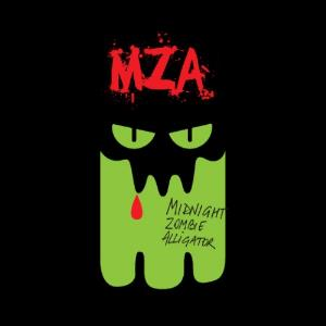 Midnight Zombie Alligator - Mza CD (album) cover