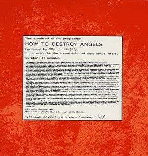 COIL - How To Destroy Angels CD album cover