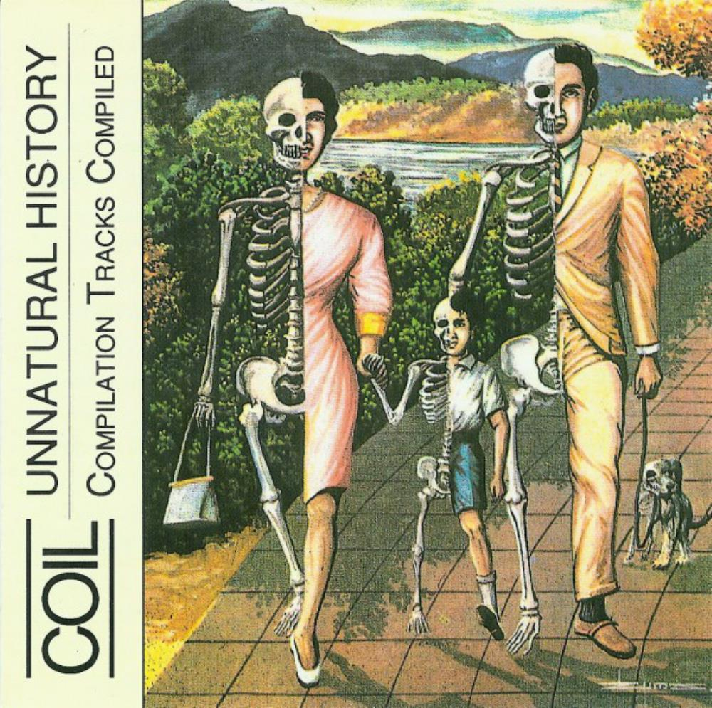 Coil - Unnatural History: Compilation Tracks Compiled CD (album) cover