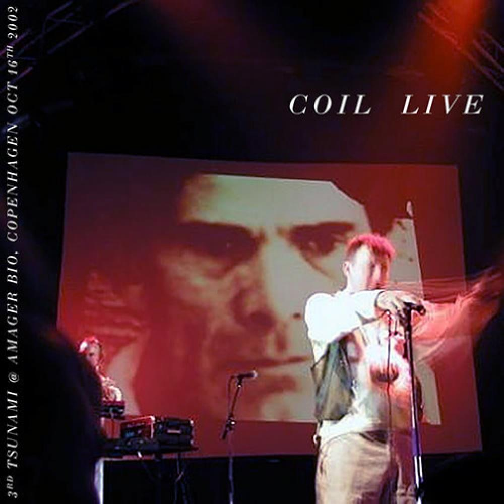 Coil - Live - Copenhagen 2002 CD (album) cover