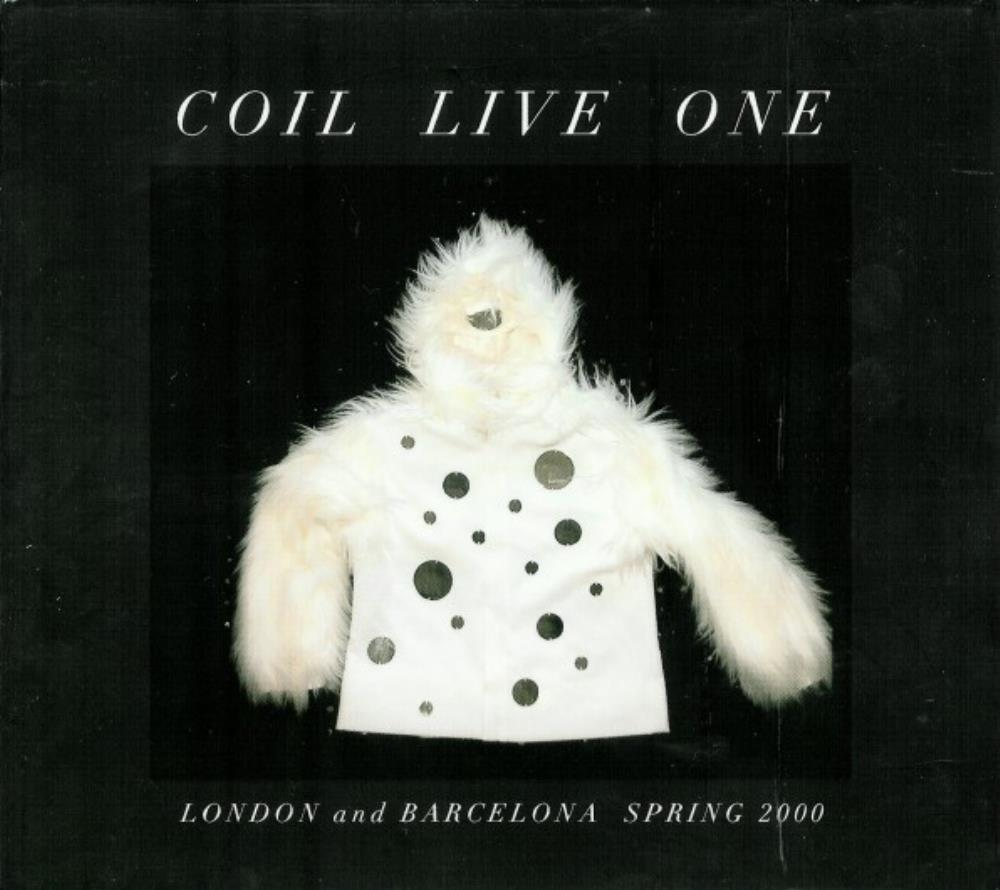 Coil - Live One CD (album) cover