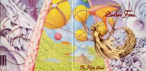 Sailor Free - The Fifth Door CD (album) cover