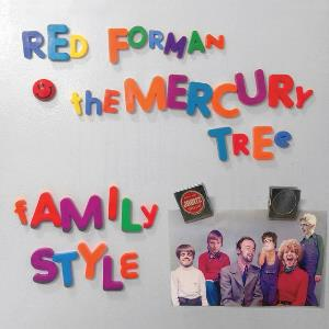 The Mercury Tree - Family Style CD (album) cover