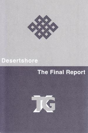X-tg - Desertshore / The Final Report CD (album) cover