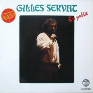 Gilles Servat - En Public CD (album) cover
