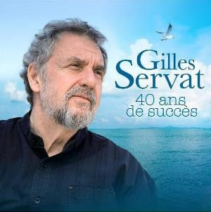 Gilles Servat - Best Of Gilles Servat : 40 Ans De Succès CD (album) cover