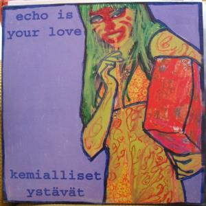 Kemialliset YstÄvÄt - Untitled (with Echo Is Your Love) CD (album) cover