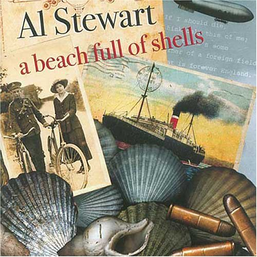 AL STEWART - A Beach Full Of Shells CD album cover