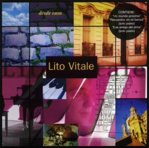 Lito Vitale - Desde Casa CD (album) cover