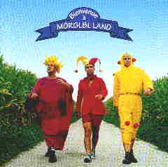 THE MÖRGLBL TRIO - Bienvenue à Mörglbl CD album cover