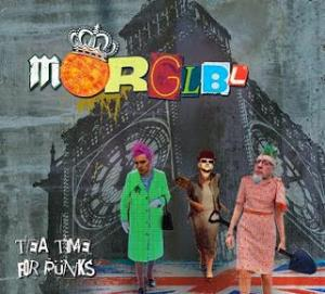 The MÖrglbl Trio - Tea Time For Punks CD (album) cover