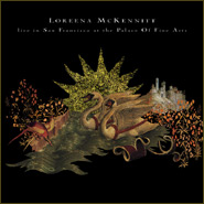 LOREENA MCKENNITT - Live In San Francisco CD album cover