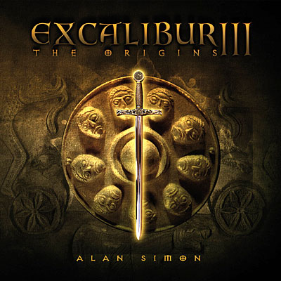 ALAN SIMON - Excalibur III, The Origins CD album cover