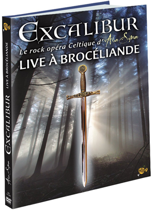 Alan Simon - Excalibur, Live à Brocéliande DVD (album) cover