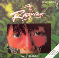 Terry Oldfield - Spirit Of The Rainforest CD (album) cover