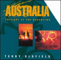 Terry Oldfield - Australia : Twilight Of The Dreamtime CD (album) cover