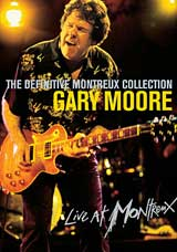 Gary Moore - The Definitive Montreux Collection DVD (album) cover
