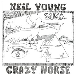 Neil Young - Zuma CD (album) cover