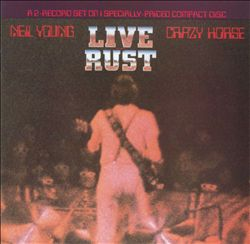 Neil Young - Live Rust CD (album) cover