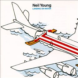 Neil Young - Landing On Water CD (album) cover