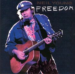 Neil Young - Freedom CD (album) cover