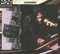 Neil Young - Live At Massey Hall 1971 CD (album) cover