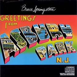 Bruce Springsteen - Greetings From Asbury Park, N.j. CD (album) cover