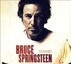 Bruce Springsteen - Magic CD (album) cover