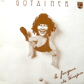 RICHARD GOTAINER - Le Forgeur De Tempo CD album cover