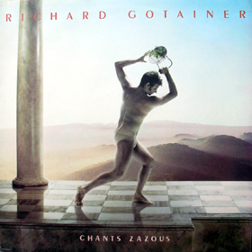 RICHARD GOTAINER - Chants Zazous CD album cover