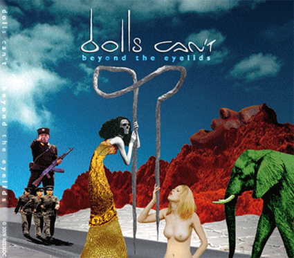 Dolls Can't - Beyond The Eyelids CD (album) cover