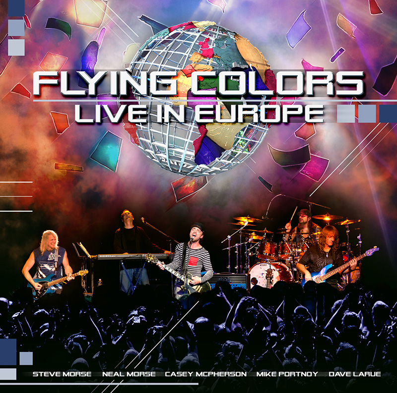 Flying Colors - Live In Europe CD (album) cover